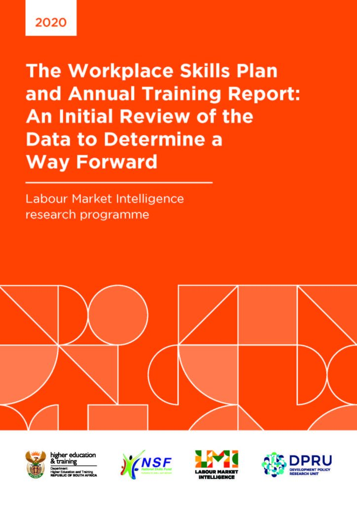 The workspace skills plan and annual training report