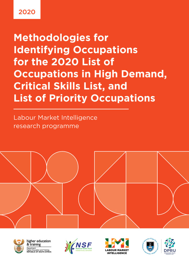 Methodologies for Identifying Occupations for the 2020 List of Occupations in High Demand, Critical Skills List, and List of Priority Occupations